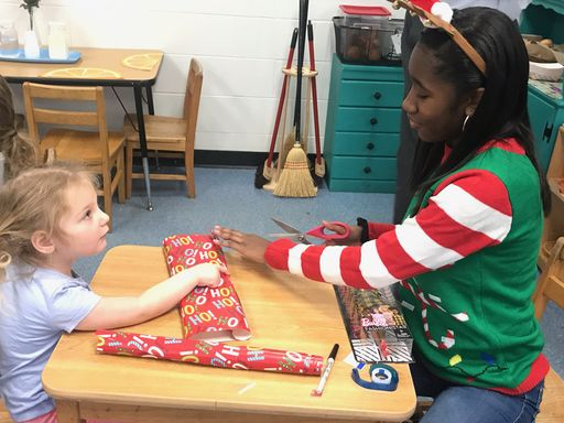 14th Annual All-School Wrap-In spreads holiday cheer