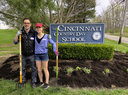 Volunteers help beautify CCDS campus