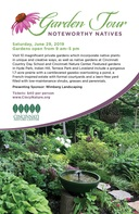 CCDS part of Cincinnati Nature Center native garden tour June 29