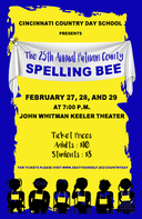 SAVE THE DATE: The 25th Annual Putnam County Spelling Bee