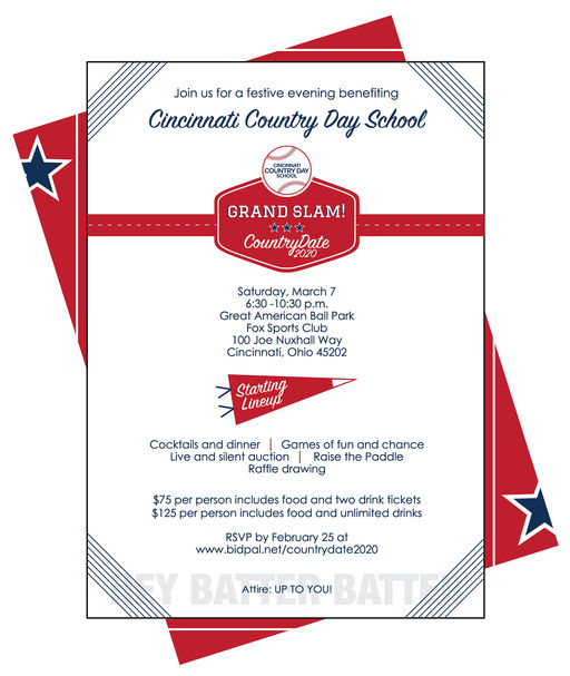 Join us for CountryDate 2020 - Grand Slam on March 7