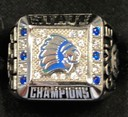 Girls Soccer team receives state championship rings
