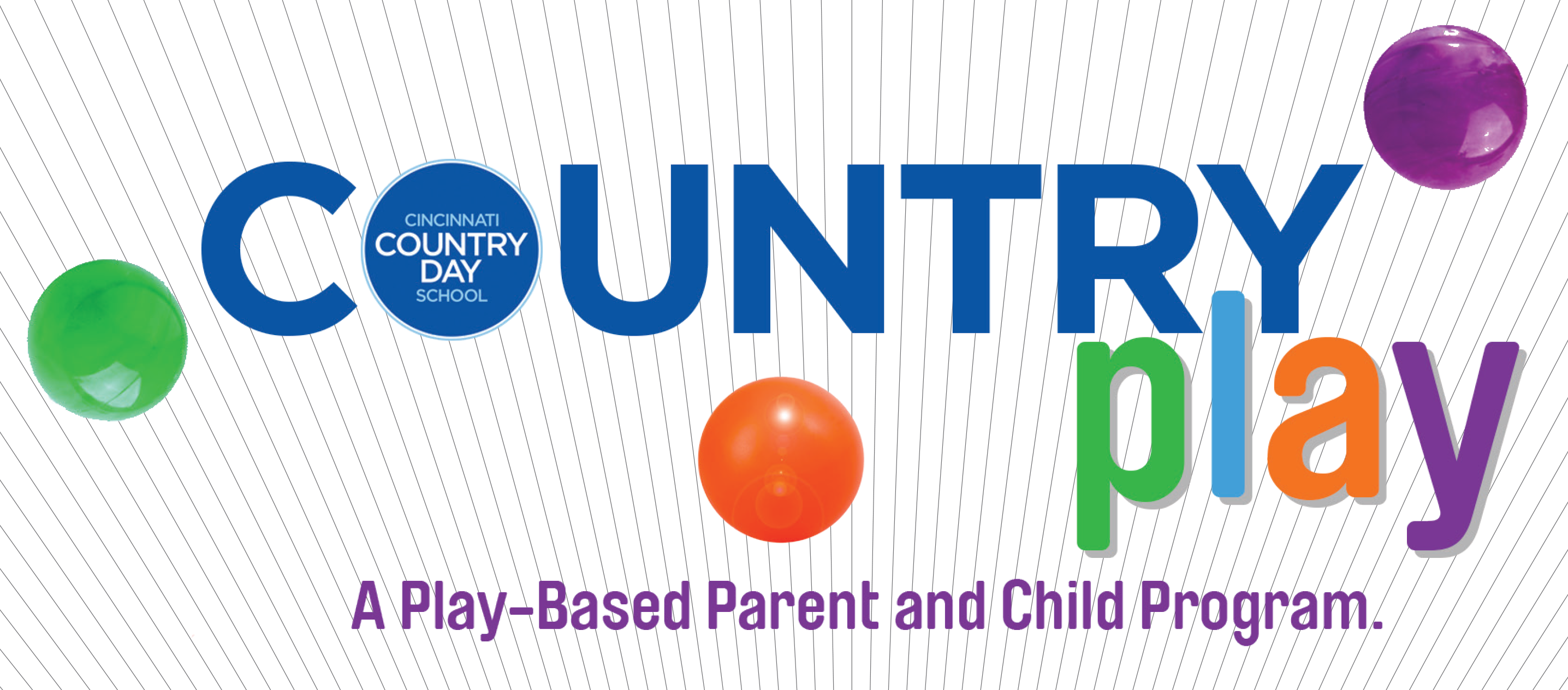 Country play program graphic