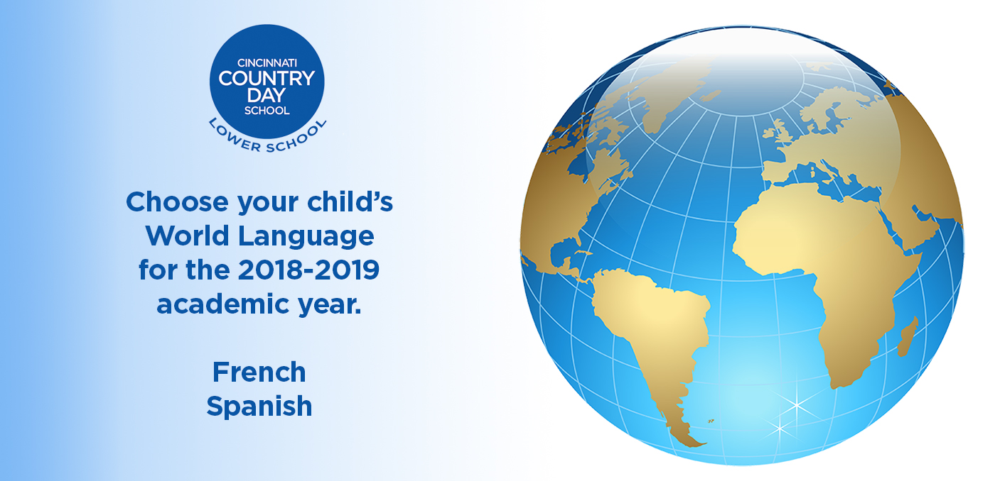 Cincinnati Country Day School World Language graphic
