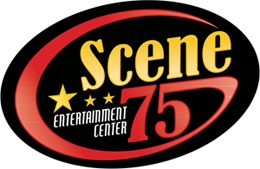 Scene entertainment center logo