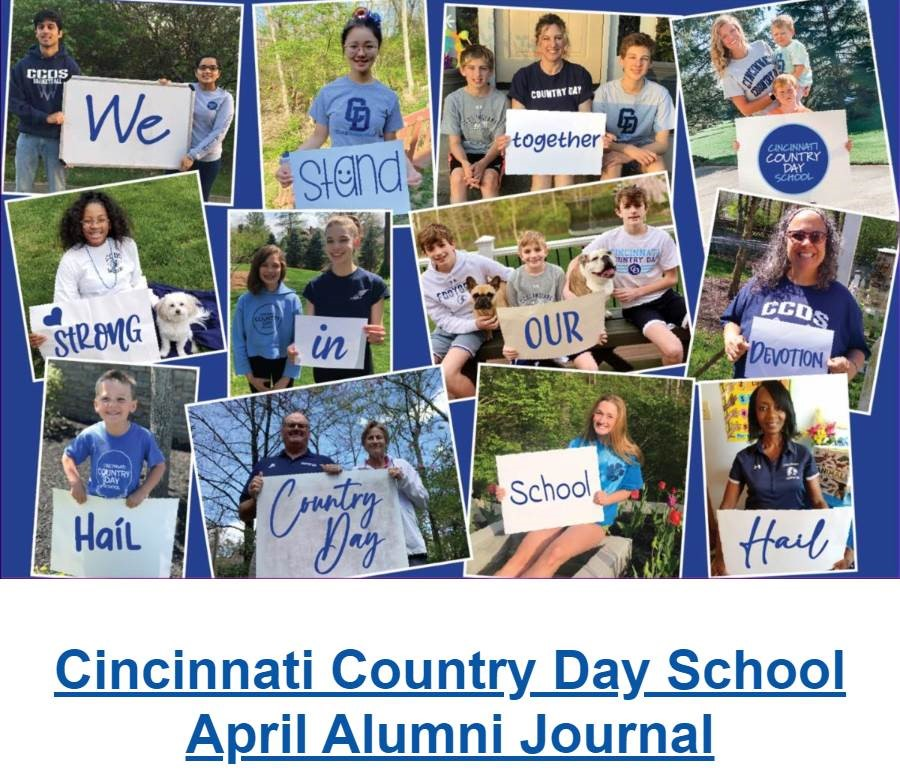 April Alumni Newsletter