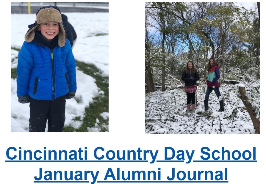 January Alumni Newsletter
