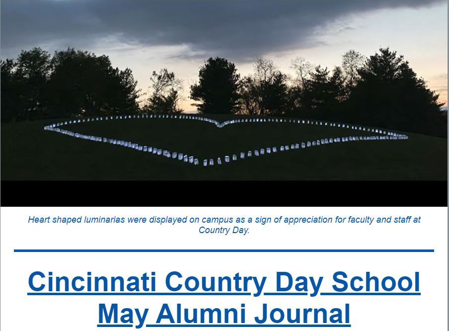 May Alumni Newsletter