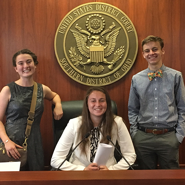 CCDS Job Shadow US District Court