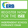 ERB register now for the ISEE graphic